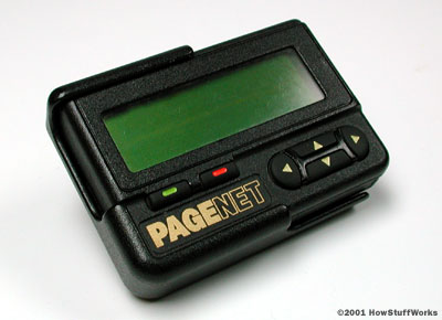 pager Internet based paging system