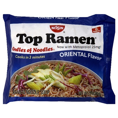 ramen with metoprolol Now with Metoprolol